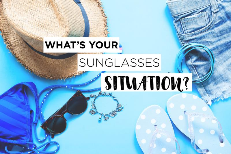 5 Sunglasses You Can Wear Depending on Your Summer Situation