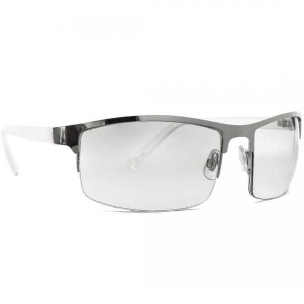 First Avenue wrap-around metal lunettes solaire pour hommes au Maroc